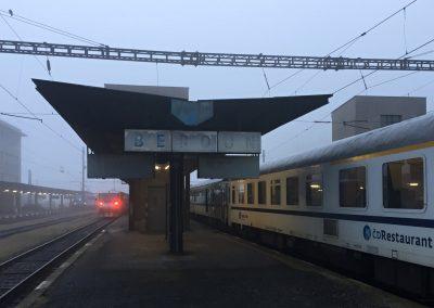 Na nádraží v Berouně