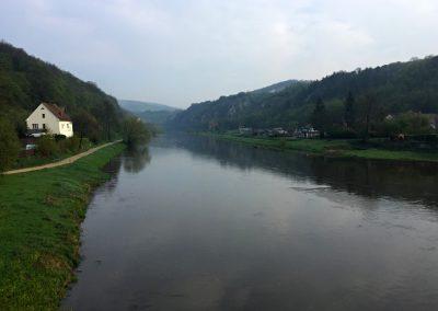 Most přes Berounku v Srbsku