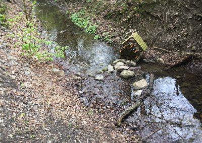 Na hrázi rybníka Pekárek