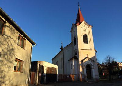 Kosel sv. Martina v Třebotově