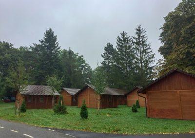 Počasí se lepší, kemp ve Frenštátu se oblékl do ponurého
