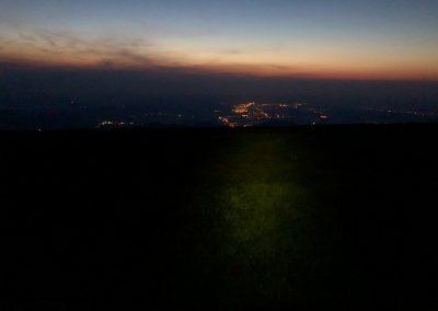 Výhledy do Polska jsou krásné, je bezvětří a asi 6 stupňů; proti loňsku pohádka