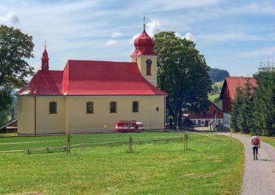 Kostelík v Říčkách