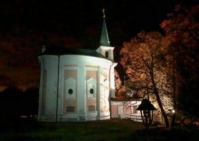 Kaple sv. Máří Magdalény na Skalce nad Mníškem
