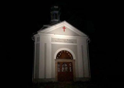 Kaple na Křížovém vrchu nad Brtníky