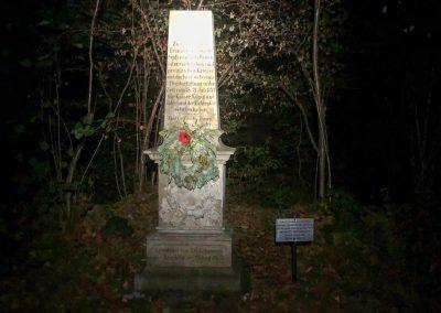 V těchto místech se v bitvě Pod Studencem v roce 1757 válčilo.