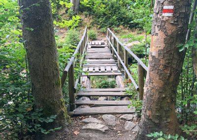 ...takže pokud se pode mnou propadne jeden z mnoha mostků neurčitého stáří a pochybné kvality, neutopím se... :)