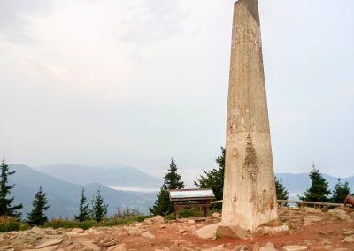 Mohyla na Lysé hoře (foto Jirka Větvička)