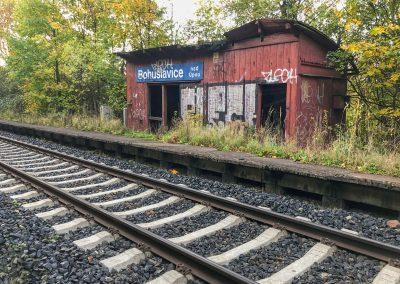 Tak tady bych na vlak asi čekal dlouho...