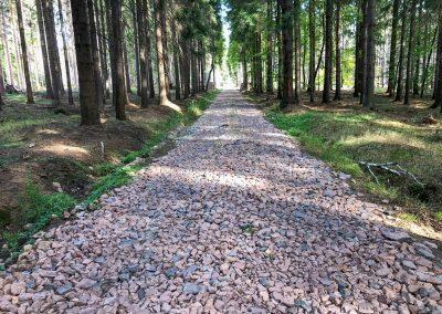 Peklo pro moje chodidla, částo první... Tu druhou jsem nefotil, ale bylo to hodně kilometrů po asfaltu.