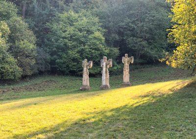 Křížová cesta 21. století v parku u Kuksu