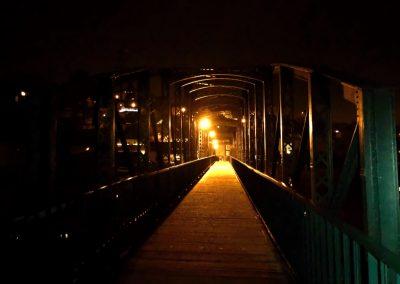 Starý most v Davli má moc pěknou atmosféru