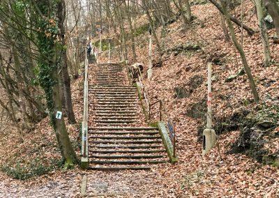 Podzimní schodiště