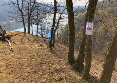SK14, vyhlídka na Vltavu