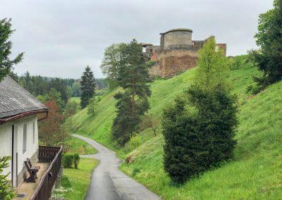 Zřícenina hradu Krakovec. Ať žijí duchové!