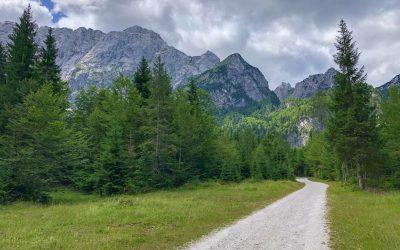 Na otočku na Mangart (2677m, Julské Alpy)