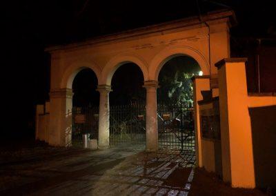 Zámecká brána u parku zámku Zbiroh