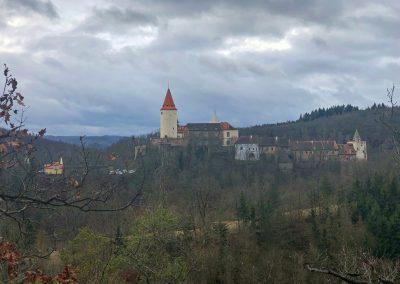 A ještě jeden pohled na hrad, tentokrát z druhé strany
