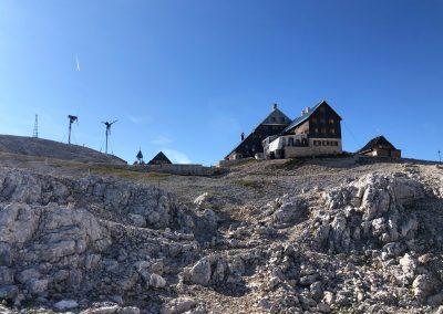 Triglav Lodge at Kredarica