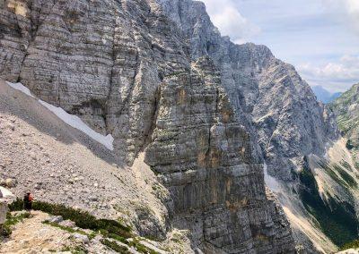 Člověk je malý, hory jsou obrovské