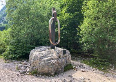 Památník statečným partyzánům z 2. sv. války