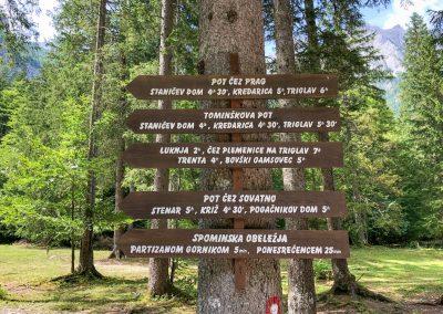 Přehledný seznam značených cest
